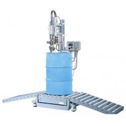 半自动称重式植物油灌装机